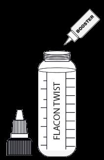 Flacon twist + nicotine